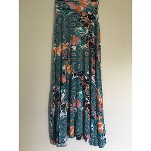 ReneeC floral print skirt
